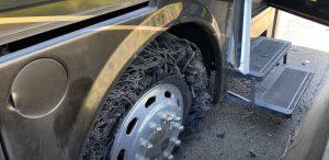 motorhome tire blowout