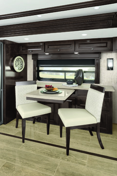 RV kitchen interior